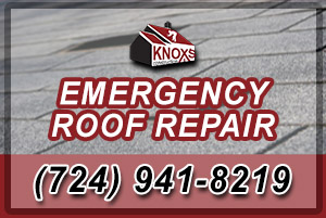 Emergency Roof Repair in the Pittsburgh area - including Allegheny and Washington Counties in PA